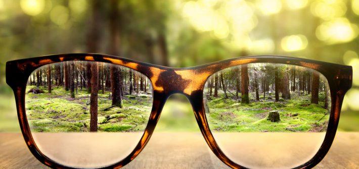 Blurred vision treatment