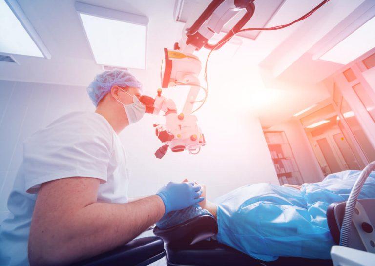 Cataract laser surgery