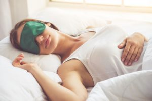sleeping with eyes open