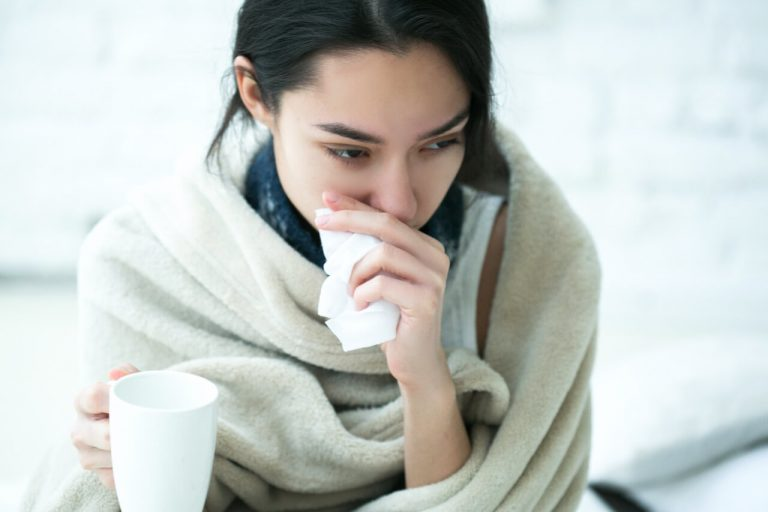 How to Treat Headache, Runny Nose, Watery Eyes