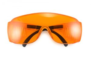 Laser protection glasses for dental procedures